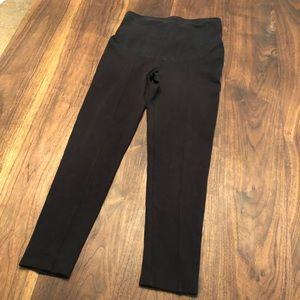 H&M maternity black leggings, size Small